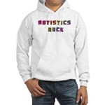 Autistics Rock Hooded Sweatshirt