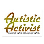 Autistic Activist v2 Postcards (Package of 8)