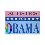 Autistics for Obama Rectangle Magnet (10 pack)