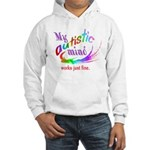 My Autistic Mind Hooded Sweatshirt
