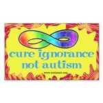 Cure Ignorance Sticker (Rectangle)