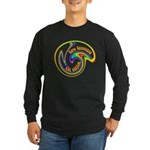 Cure Ignorance (Rainbow) Long Sleeve Dark T-Shirt