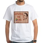 Autistics for Obama White T-Shirt