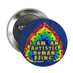I Am Human 2.25&quot; Button (100 pack)