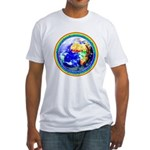 Autistic Planet Fitted T-Shirt