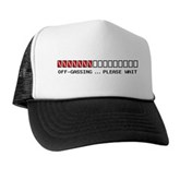 Off-Gassing ... Please Wait Trucker Hat