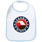Obama-Biden Eagle Bib