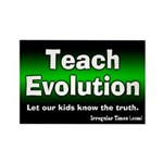 Teach Evoluton Magnet Rectangle