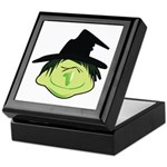Happy Green Witch Keepsake Box
