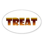 Glowing Treat Oval Sticker (10 pk)