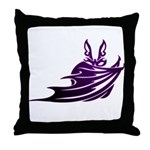 Vampire Bat 2 Throw Pillow