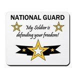 National Guard Soldier Freedo Mousepad