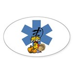 Thanksgiving EMS Sticker (Oval 10 pk)