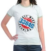 Vintage Key West 33040 Jr. Ringer T-Shirt