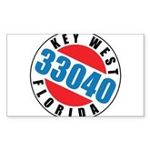 Key West 33040 Rectangle Sticker