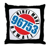 Kihei Maui 96753 Throw Pillow