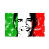 America loves Barack Obama. The world loves Barack Obama. And Italy loves Barack Obama! Obama's face is superimposed over the Italian flag. Italians for Obama will love this Italy Obama design.