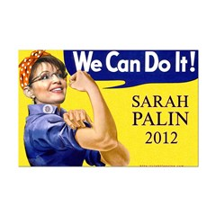 We Can Do It in 2012 Mini Poster Print