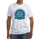 Open Water Diver 2009 Fitted T-Shirt
