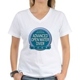 Advanced OWD 2009 Women's V-Neck T-Shirt