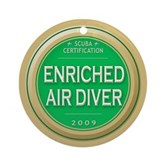  Nitrox Diver 2009 Ornament (Round)