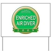  Nitrox Diver 2009 Yard Sign