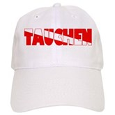 Tauchen German Scuba Flag Cap
