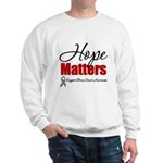Hope Matters Brain Cancer Sweatshirt