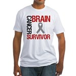 BrainCancerSurvivor Fitted T-Shirt