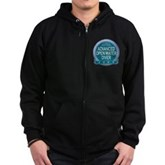 Advanced OWD 2009 Zip Hoodie (dark)