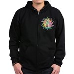 Built This Way Zip Hoodie (dark)
