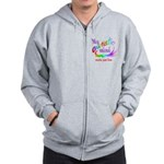 My Autistic Mind Zip Hoodie