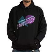 You Can't Handle the Truthiness Hoodie (dark)