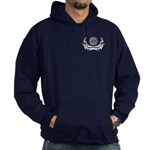 Firefighter Tattoos Hoodie (dark)