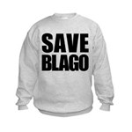 Save Illinois Governor Blagojevich, he's innocent! Kids Sweatshirt