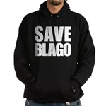 Save Illinois Governor Blagojevich, he's innocent! Hoodie (dark)