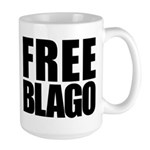Free Illinois Governor Blagojevich, he's innocent! Large Mug