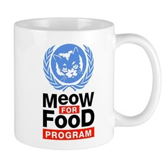 Meow For Food Program Mug