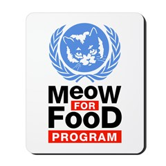 Meow For Food Program Mousepad