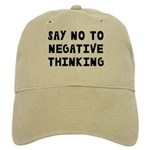 Say No to Negative Thinking Cap