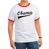 Obama Swish Ringer T