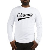 Obama Swish Long Sleeve T-Shirt