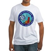 Take Only Memories (fish) Fitted T-Shirt