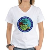 Take Only Memories (turtle) Women's V-Neck T-Shirt