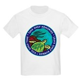 Take Only Memories (turtle) Kids Light T-Shirt