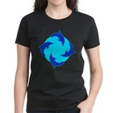 Dolphin Ring Women's Dark T-Shirt
