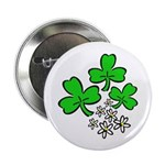 "Irish Shamrocks 2.25"" Button (100 pack)"