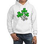 Irish Shamrocks Hooded Sweatshirt