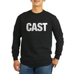 Cast Member T-Shirts Long Sleeve Dark T-Shirt