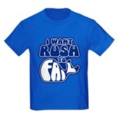 I Want Rush to Fail Kids Dark T-Shirt